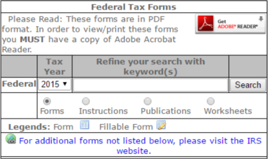 Federal Tax Forms Cts Financial Enterprises Financial Services